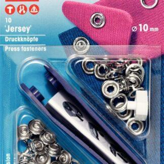 Tryckknappar 10mm Jersey