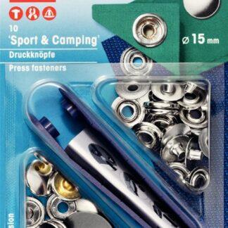 Tryckknappar 15mm Sport Camping