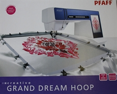 Grand dream Hoop 360 x 350 Pfaff