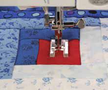 Applikationsfot Öppen ,Grupp 2 & 3 Janome Symaskiner