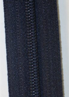 Blixtlås metervara Marinblå