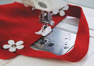 GlidFot Grupp 4 Janome Symaskiner