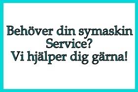 Service på Symaskin